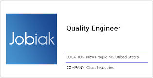 Chart New Prague Mn Quality Engineer Job At Chart Industries In New Prague Mn