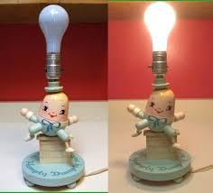 whimsical lighting fixtures. Wooden Humpty Dumpty Sat On A Wall Child\u0027s Children\u0027s Table Desk Bedside Lamp 1950 - 1960 Whimsical Lighting Fixtures