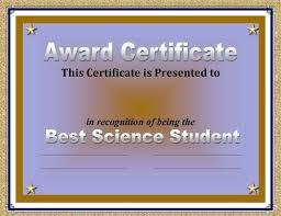 Example Of Certificate Of Award Stingerworld Co