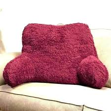 backrest pillow for bed arm chair pillow bed rest pillow with arms bed armchair pillow backrest