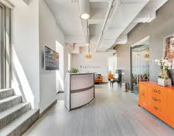 amazing office space. New Amazing Office Space At East 42nd Street York Reception And Opening To Terrace Captivating For Rent Mineola