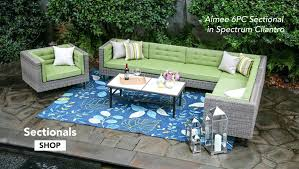 grove hill outdoor patio furniture dining sets pieces outdoor sectional