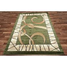 lovely tone on tone area rugs or modern green area rug two tone brown beige border