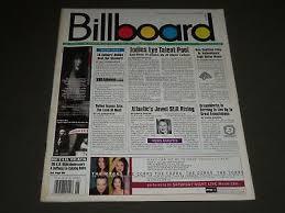1999 February 6 Billboard Magazine Great Vintage Music Ads