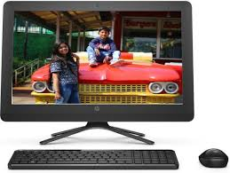 HP - (Celeron Dual Core/4 GB DDR3/1 TB/Free DOS Hp All In One PCs/Desktop Buy Pcs/Computer Online at