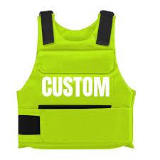 Bulletproof Vest Designer Neon Yellow Green Custom Bulletproof Vest