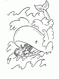 7 Pics Of Jonah Coloring Pages For Preschool Jonah Bible Story