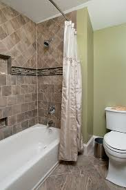 all tiled small bathroom ideas bathtub area with decorative tile on walls and floor