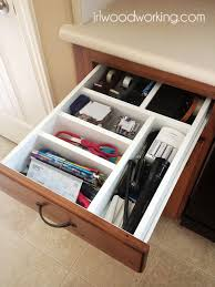 diy junk drawer organizer