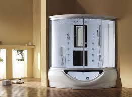 Clawfoot Tub Deckmount Shower Enclosure Combo WGooseneck Faucet Acrylic Shower Tub Combo