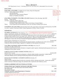 Gallery Of Law School Resume Template