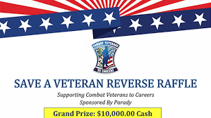 Reverse Raffle Rules Tickets Now Available For The 2019 Save A Veteran Reverse