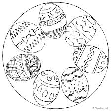 Kleurplaten Pasen Mandala Brekelmansadviesgroep