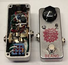 analog man beano boost treble booster effects pedal mini beano boost
