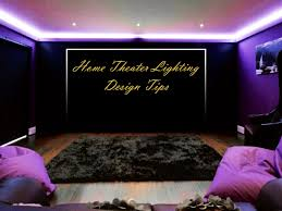 home theater lighting ideas. Home Theater Lighting Design Tips Ideas