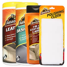 photo s of the armor all leather wipes dashboard wipes matt 3in1 leather care cloth pro50