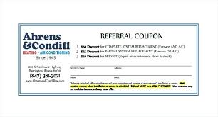 Coupon Template Unique Printable Referral Coupon Template Download Client Program For