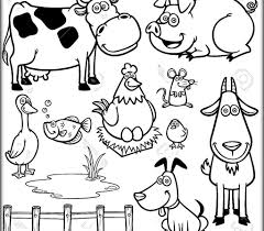 Coloring Pages Colouring Pages For Kids Animals Animal Coloring