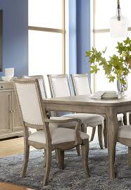 the martha stewart living bergen dining collection created for macy s features an expandable table to fit 4 or 6 chairs upholstered side and armchairs