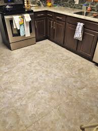 Kitchen Floor Vinyl Tiles Kitchen Update Luxury Vinyl Tile Lvt