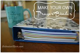 prayer binder diy
