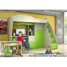 kids bunk bed with desk. Exellent Desk Bajka Kids Bunk Bed With Desk Throughout Bunk Bed With Desk