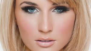 eye makeup for blue eyes and blonde hair smokey eye makeup for blue