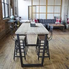 dining room table bar height. modern custom furniture | bar height table urban wood goods dining room