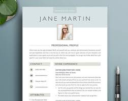 Professional Resume Template 5 Modern Creative Boutique