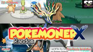 Liked on YouTube: Pokemoner X Random with New Starters 721 Pokemon Hard  Mode etc... [25K Subscriber]