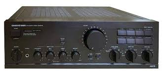 onkyo integrated amplifier. onkyo a-8170 stereo integrated amplifier a