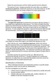Flame Test Color Chart Spectroscope Analysis Kit
