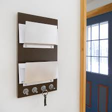 hanging mail organizer wall