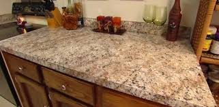 how to clean same after finishing with faux granite paint covering formica countertops painting white