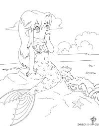 Small Picture Anime Mermaid Coloring Pages Sexy Adult Coloring Pages Anime