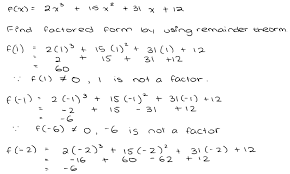 How To Factor A Cubic Polynomial Function Assignment Task 1 Cubic Function