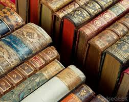 an antiques dealer may help appraise the value of antique books