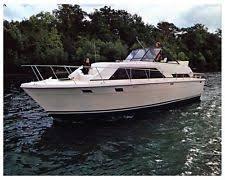 trojan boat 1975 trojan f36 tri cabin power boat factory photo ud2644