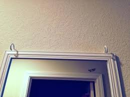 how to hang a mirror on a wall home ideas hanging mirrors on walls