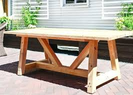 patio table plans wooden patio furniture