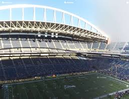 Seattle Seahawks Stadium Seating Chart Rows Centurylink Field Section 339 Seat Views Seatgeek