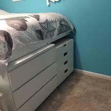 storage bed ikea hack. Malm Platform Storage Bed Ikea Hack O