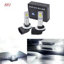 898 Fog Light Bulb Us 9 74 33 Off 2pcs 881 886 889 894 898 Led Fog Light Bulbs Kit Bright 35w 4000lm 6000k White Light On Aliexpress