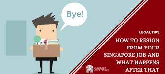 Resigned In Lieu Of Termination How To Resign From Your Singapore Job And What Happens After That