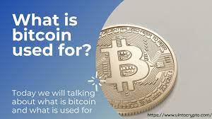 It is also a store of value and a type of investment. Calameo What Is Bitcoin Used For What Is A Bitcoin And How Does Bitcoin Work Complete Guide