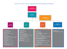 Organizational Chart Board Committees Chinese Ymca Of