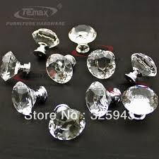 crystal furniture knobs. 30mm Zinc Alloy Clear Crystal Sparkle Glass Kitchen Cabinet Knobs Handles Dresser Cupboard Door Knob Pulls Furniture O
