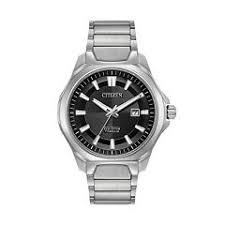 mens citizen watches kohl s citizen eco drive men s ti ip super titanium watch aw1540 88e