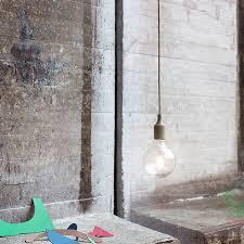 muuto e27 led socket lamp terracotta