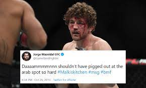 Twitter reacts after Demian Maia chokes Ben Askren unconscious and proves  he is the best grappler in the UFC - MMA INDIA